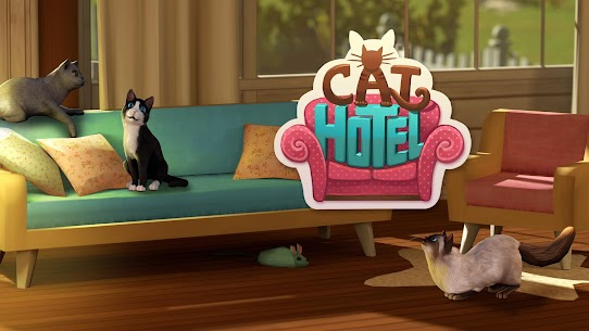 CatHotel Hotel for cute cats Mod Apk Free Download 1