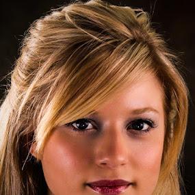 Blonde by Paul Drajem - People Portraits of Women ( studio, face, close-up, headshot, model, girl, lighting, women,  )