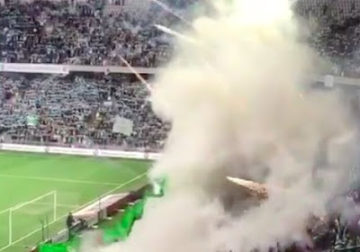 L'incroyable pyrotechnie des supporters d'Hammarby