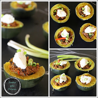 Funky Little Chili Squash Bowls