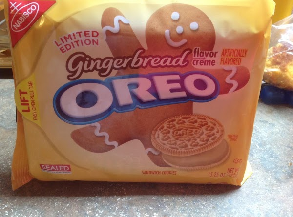 These are the cookies that I crushed in a zip lock bag using a...