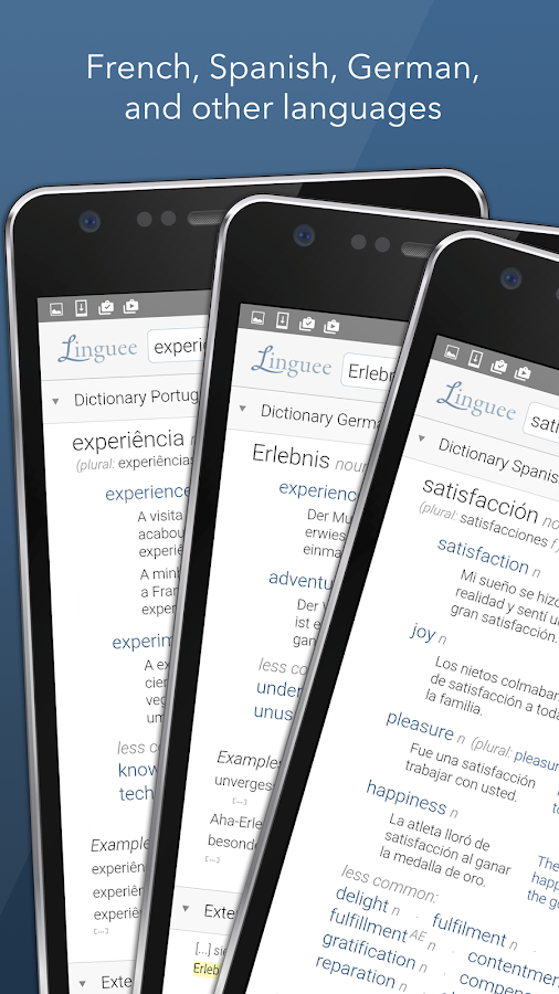 dictionary linguee android apps on google play