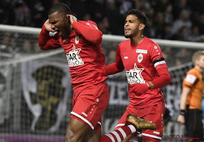 Charleroi-Antwerp werd 1-1, Antwerp eindigde met negen