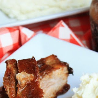 BBQ Apple Butter Baked Ribs