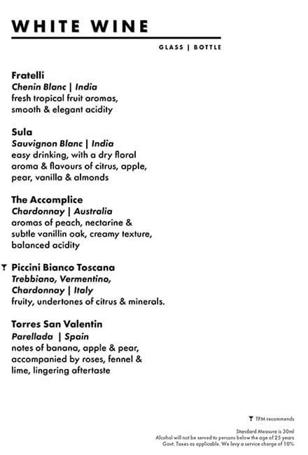 Dirty Apron menu 19