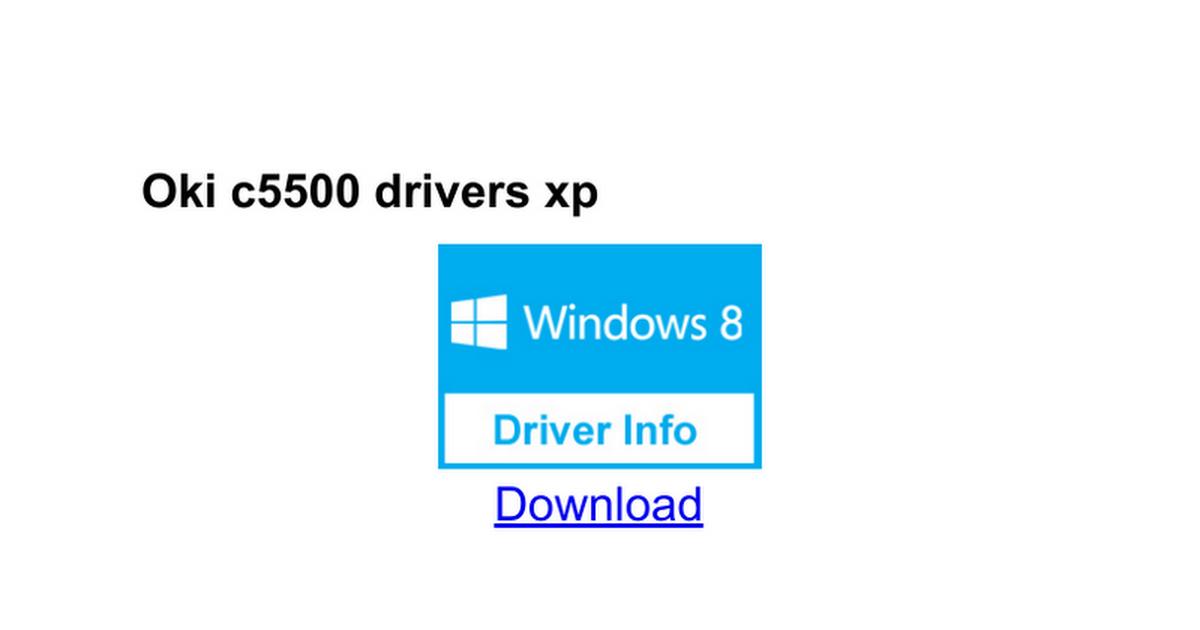 oki driver updater windows 10
