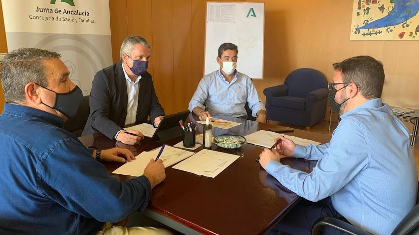 Reunión del Comité de Alerta en Almería, este mediodía.