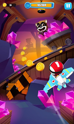 Talking Tom Sky Run: The Fun New Flying Game apktram screenshots 7
