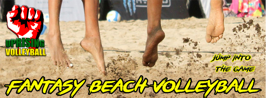 Uprising Sports Fantasy Beach Volleyball