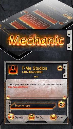 GO SMS Mechanic