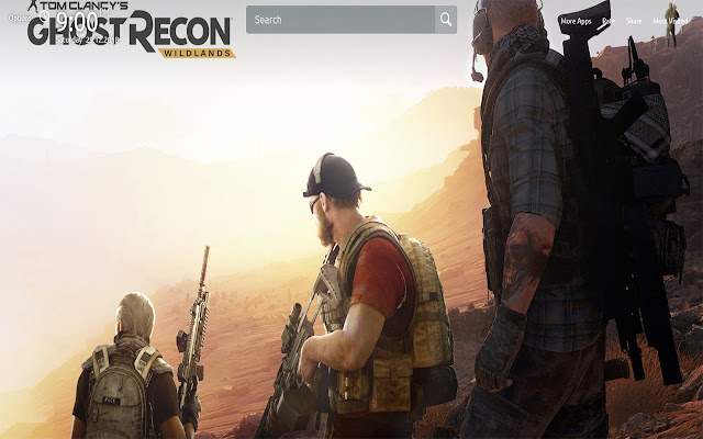 Ghost Recon Wallpapers Theme New Tab
