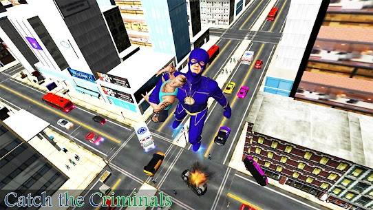Super Speed Rescue Survival: Flying Hero Games 8