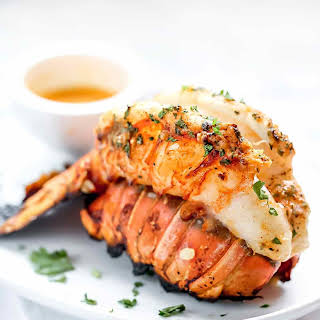 Grilled Lobster Tails with Smoked Paprika Butter.