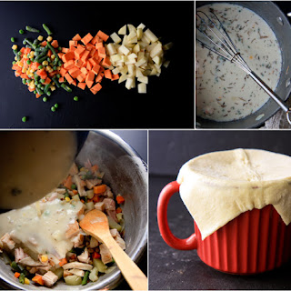 Lightened Up Chicken Pot Pie