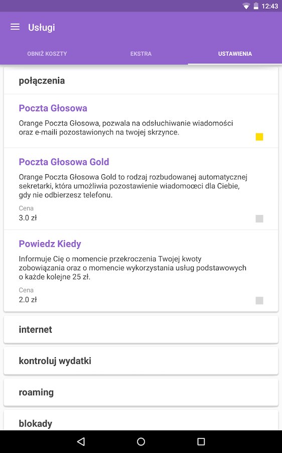 Mój Orange- screenshot