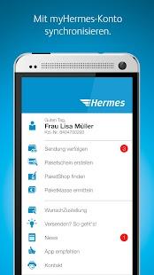 Hermes Paket Versand & Empfang - náhled