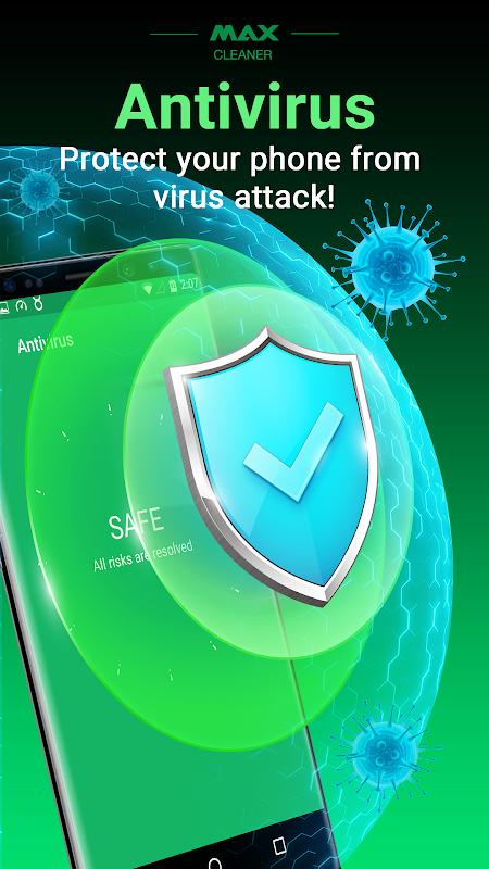 MAX Cleaner - Antivirus, Booster, Phone Cleaner screenshots