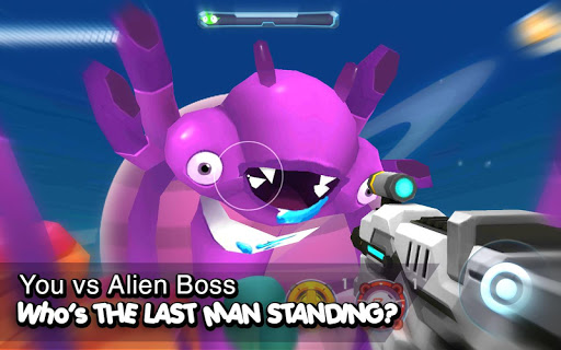 Galaxy Gunner: The Last Man Standing 3D Game  captures d'écran 1