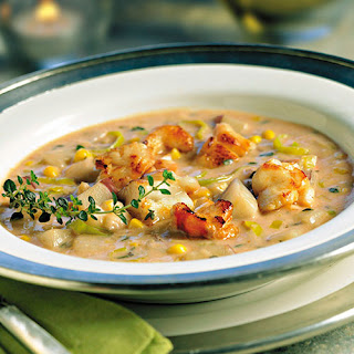 Lobster & Corn Chowder