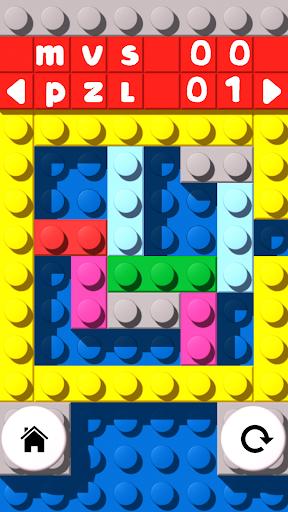 レンガのブロックを解除します。