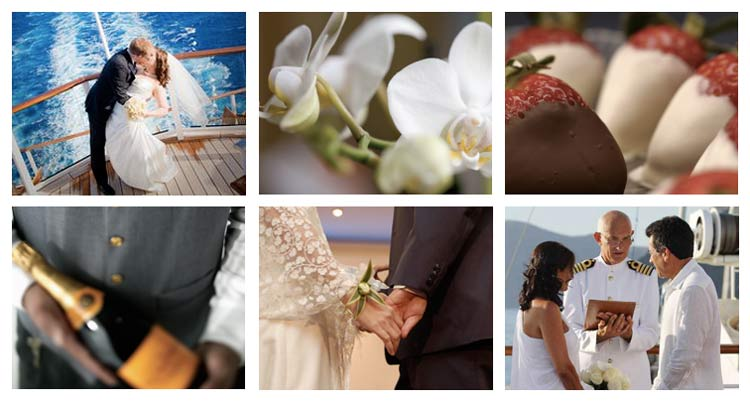 1317069845 Cruise lines offer a wide range of renewal-of-vows options for couples  celebrating