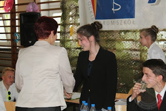 Photo: Debata Samorządów Uczniowskich z szkół Białegostoku zorganizowana w ramach XV Białostockiego Forum Szkół (16.06) najlepszy mówca