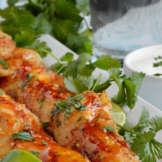 Honey Sriracha Chicken Tenders Recipe