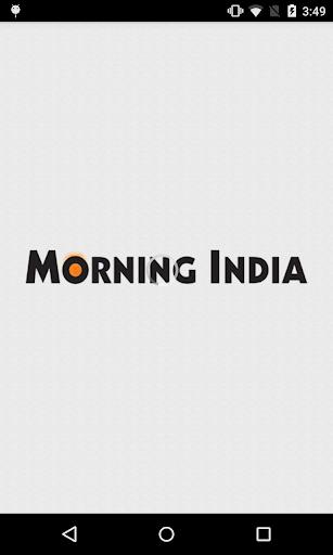 Morning India epaper