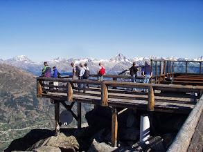 Photo: Unsere Fan machten einen eigenen Wandertag in höheres Gebirge