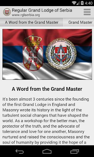 Regular Grand Lodge of Serbia