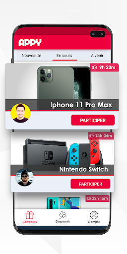 Code Triche APPY : jeux concours 100% gratuits apk mod screenshots 2
