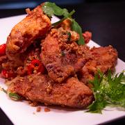 Chilli Garlic Chicken Wings