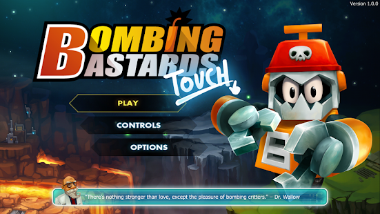 Bombing Bastards: Touch! Screenshot