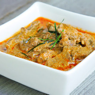 Panang Curry with Beef | Gang Panang Neua | แกงพะแนงเนื้อ.