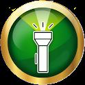 Super bright flashlight - accurate compass icon