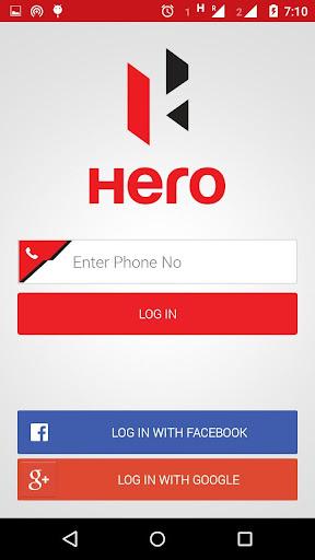 Hero App ss1