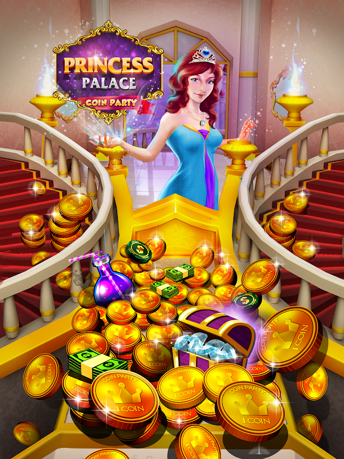 Princess Gold Coin Party Dozer- screenshot