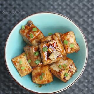 Tofu in Garlic Sauce
