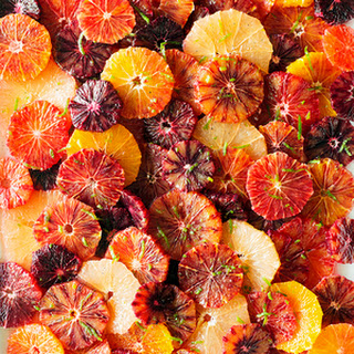 Citrus Salad with Spiced Vanilla Syrup