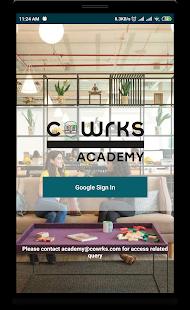 CoWrks Academy - náhled