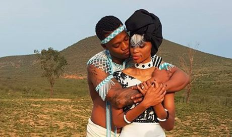 Singer Thabsie and her husband Thando Vokwana