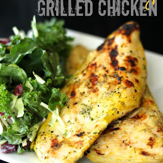 Coconut Curry Grilled Chicken.