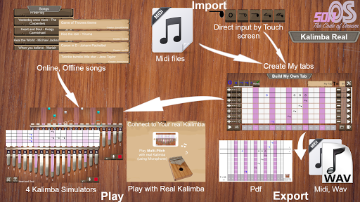 Kalimba Real screenshot 1