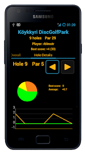 Disc Caddy ● Disc Golf app- screenshot thumbnail
