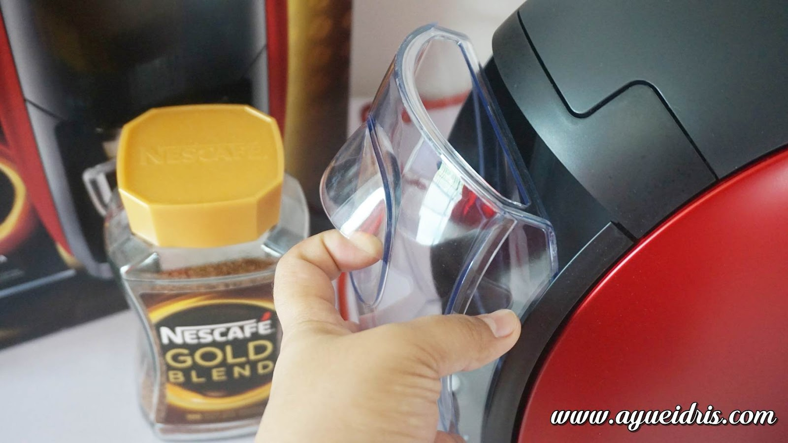 Nescafe Gold Barista Coffee Machine cara guna harga (13).JPG