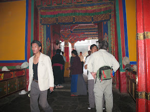 Photo: Jokhang temple was constructed by King Songtsän Gampo probably in 642.