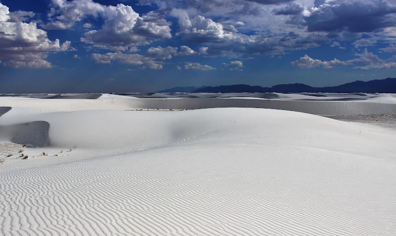 Bianco a perdita d'occhio in New Mexico di ManuelGoWest