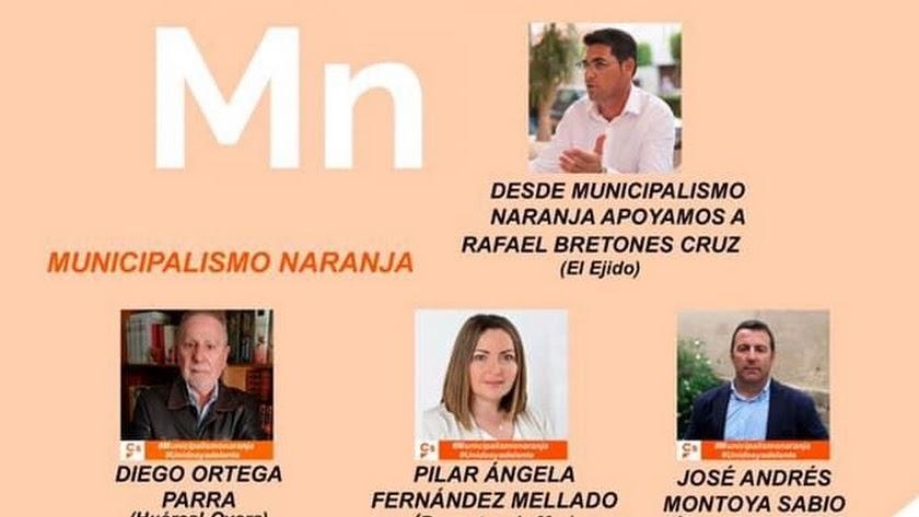 La candidatura municipalismo naranja vence con solvencia en la elección de compromisarios.