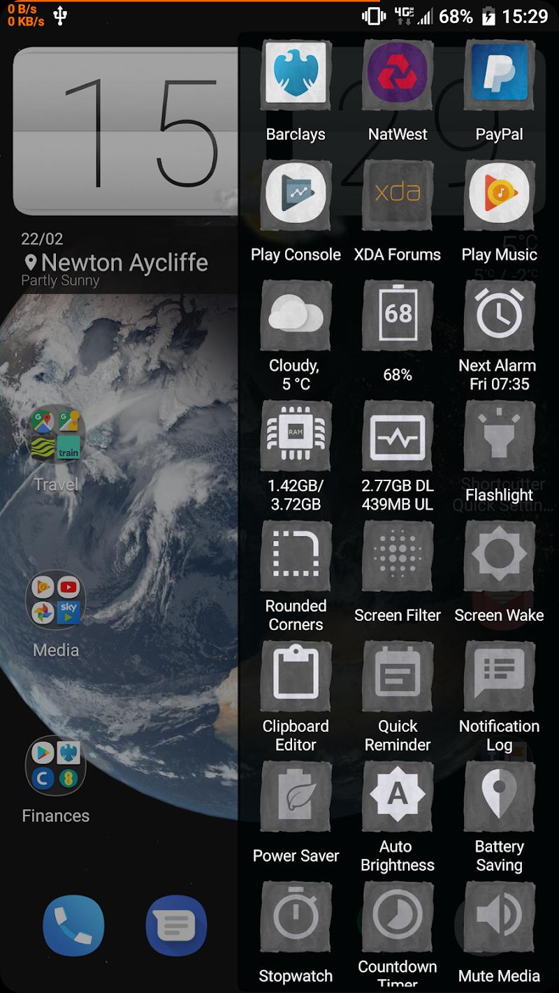 Shortcutter - Quick Settings, Sidebar & Shortcuts Screenshot 19