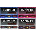 Stopwatch : Digital icon
